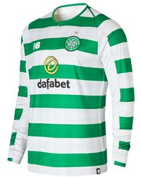 New Balance - Celtic FC Home Long Sleeve Jersey Scarpe - Lyst