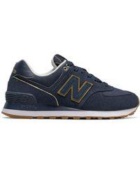 New Balance 574 Wabi Sabi Chaussures - Bleu