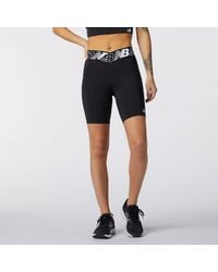 New Balance Relentless 8 Inch Fitted Short - Black
