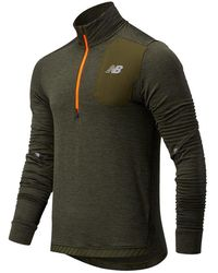 New Balance - Hombres NB HEAT GRID HALF ZIP - Lyst