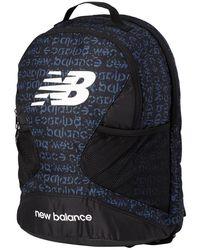 New Balance Players Backpack Aop - Black