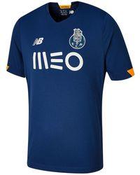 New Balance Fc Porto Away Short Sleeve Jersey - Blue