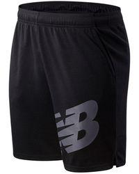New Balance Pantaloncini Tenacity Lightweight Sweat - Nero
