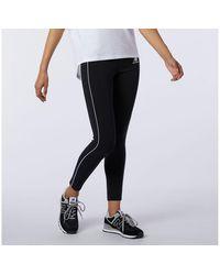 New Balance - Nb Athletics Piping Legging - Lyst