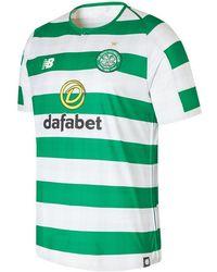 New Balance - Celtic FC Home Short Sleeve Jersey Schuhe - Lyst