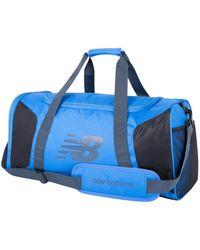 New Balance Unisex Player Duffel - Blue