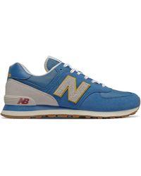 New Balance Homme 574 - Bleu