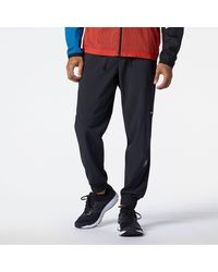 New Balance Impact Run Woven Pant - Black