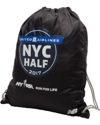 New Balance United Nyc Half Gym Sack - Black