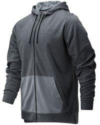 New Balance - Homme Sweats à capuche Tenacity Lightweight Full Zip - Lyst