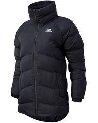 New Balance Femme NB Athletics Terrain Mid Synthetic Fill Jacket - Noir