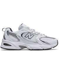 New Balance Unisex 530 Schuhe - Weiß