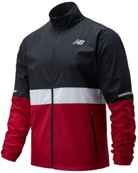 New Balance Men's Accelerate Jacket - Red