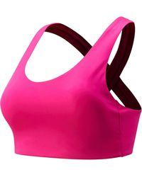 New Balance Nb Fuel Bra - Pink
