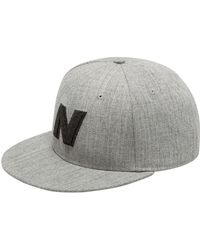 New Balance Casquette Exploded Logo - Gris
