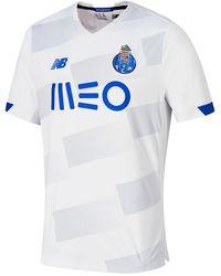 New Balance Fc Porto Third Short Sleeve Jersey - Black