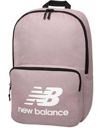 New Balance Unisex Team Classic Backpack - Purple