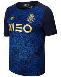 New Balance Uomo FC Porto Away Short Sleeve Jersey - Blu