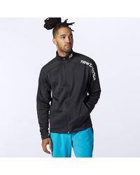 New Balance Tenacity Knit Jacket - Black