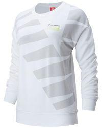 New Balance 01524 Sport Style Optiks Crew - White