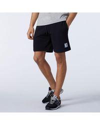 New Balance Nb Essentials Fleece Short - Black