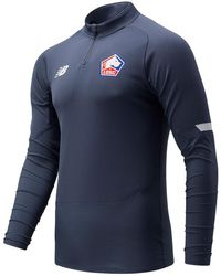 New Balance Lille LOSC Mid-Layer - Gris