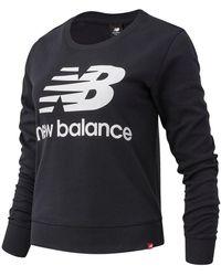 New Balance Essentials Crew - Black