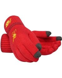 New Balance Liverpool FC Elite Knitted Gloves - Rouge