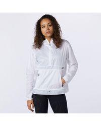 New Balance Q Speed Fuel Light Weight Jacket - White