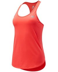 New Balance Accelerate Tank - Red