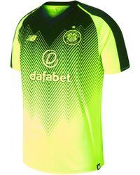 a0605cf9036 New Balance - Celtic Fc 3rd Short Sleeve Jersey - Lyst