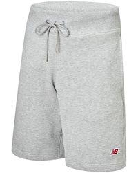 New Balance - Herren Small NB Pack Sweat Short - Lyst