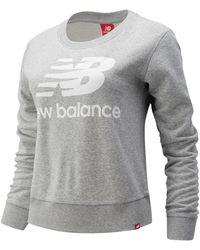 New Balance Women's Essentials Crew - Grey
