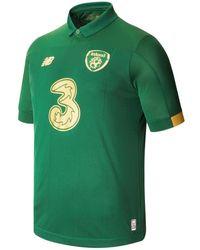 New Balance 930322 Fa Ireland Home Ss Jersey - Green