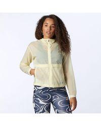 New Balance Impact Run Light Pack Jacket - Yellow