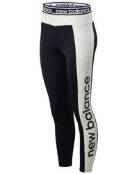 New Balance - Damen Relentless Graphic High Rise 7/8 Leggings - Lyst