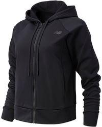 New Balance Relentless Tech Fleece Full Zip - Black