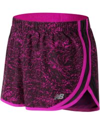 New Balance - Accelerate 2.5 Inch Printed Short - Lyst