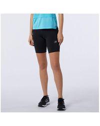 New Balance Femme Impact Run Fitted Short - Bleu