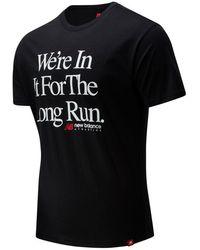 New Balance - Homme T-Shirt Essentials Icon Long Run - Lyst