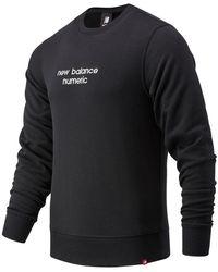 New Balance Herren NB Numeric Boutique Crew - Schwarz