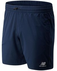 New Balance Pantaloncini NB Athletics Wind - Blu