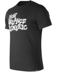 New Balance - Nb Numeric High Stakes Tee - Lyst