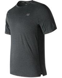 New Balance - Precision Run Short Sleeve - Lyst