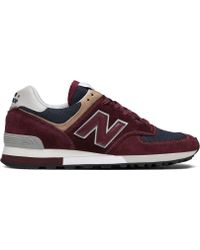 f1a2086ef1 New Balance New Balance 576 Made In Uk Shoes in Blue for Men - Lyst