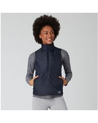 New Balance Women's Nb Heatgrid Vest - Blue