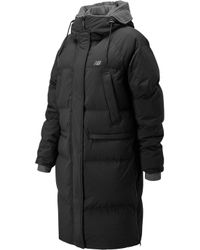 New Balance - Yuna Long Down Jacket - Lyst