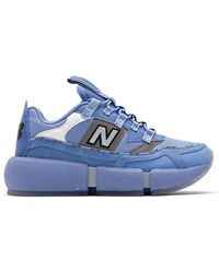 New Balance Hombres Jaden Vision Racer - Azul