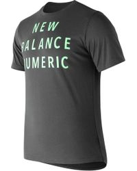 New Balance New Balance Nb Numeric Wordmark Tee
