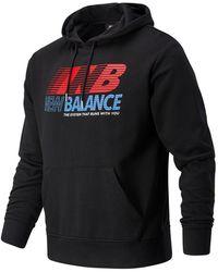 New Balance Essentials Speed Hoodie - Black